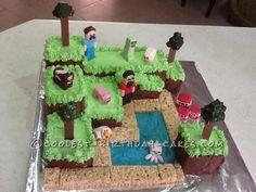 Coolest Minecraft Cake...