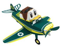 Blog_Paper_Toy_papertoy_Oregon_Duck_Airplane_pic