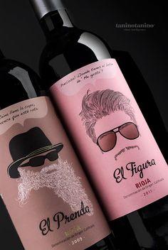 EL PRENDA Y EL FIGURA 7 PASOS  - TANINOTANINO VINOS INTELIGENTES  wine / vinho / vino mxm
