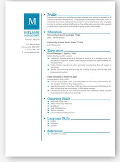 Aqua Chevron Modern Microsoft Word Resume And Cover By Inkpower
