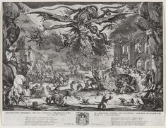 Prince of Darkness, 1946. The Temptation of St Anthony by Jacques Callot, 1630