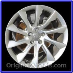 OEM 2013 Audi A5 Rims - Used Factory Wheels from OriginalWheels.com #Audi #AudiA5 #A5 #2013AudiA5 #13AudiA5 #2013 #2013Audi #2013A5 #AudiRims #A5Rims #OEM #Rims #Wheels #AudiWheels #AudiRims #A5Wheels #steelwheels #alloywheels