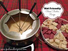 Kid Friendly Cheese Fondue Recipe - no alcohol!