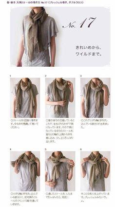 Tie a scarf #17/50