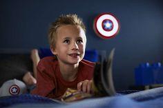 Wandlamp Philips Disney Captain America 7194032P0 - Disney nieuwe collectie - Lamp123.nl