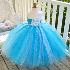 Winter Wedding Flower Girl Tutu Couture Party by TutuFactory1