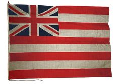 Honourable East India Company ensign - National Maritime Museum