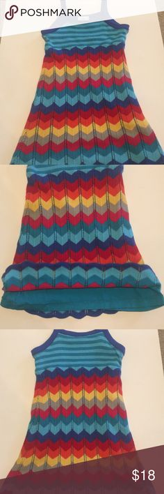 Hanna Andersson knit dress Multi color knit dress Hanna Andersson Dresses Casual