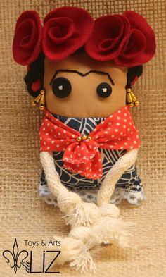 Toyart Frida Kahlo Toys Arts da Liz