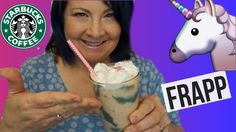 Healthy Starbucks Unicorn Frappuccino | Homemade