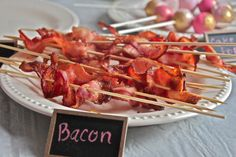 Bacon...what more could one want?  Brunch party ideas