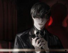 Aesthetic Art, Aesthetic Anime, Anime Boy Zeichnung, Dark Anime Guys, Dibujos Cute, Anime Profile, Handsome Anime, Manga Boy, Manga Characters