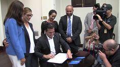 Gobernador firma ley que regula el uso del Cannabis Medicinal https://youtu.be/3qRImZ9Y3S0 via @YouTube