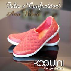 Imagina um tênis mega confortável? Pois a #marinamello fez pra você com o charme do #matelasse e a classe da cor vermelha #koquini #comfortshoes #euquero