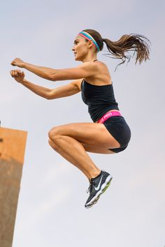 Jump into serious agility training with the Zoom Fast circuit workout by Nike Master Trainer Kirsty Godso.