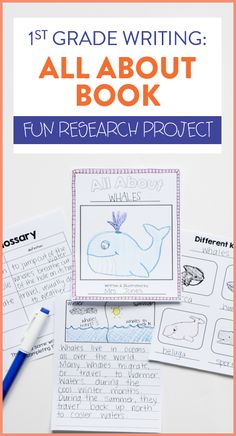 Do your first or second grade students write and publish their own all about books?! This fun, research project walks students through the entire writer's workshop process as they learn about nonfiction text features along the way! Head on over to the post to read details about how this first grade teacher completes this project in her room!