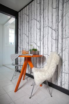 Tripod Table from west elm via @Apartment Therapy