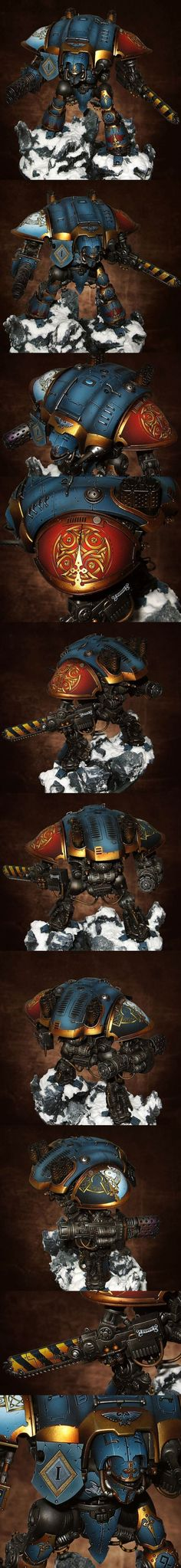 40k - Space Wolves Imperial Knight by Lan Studio: