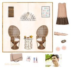 """""""1️⃣7️⃣ your afternoon tea with him"""" by fairyspells ❤ liked on Polyvore featuring Dolce&Gabbana, Chloé, Chan Luu, Second Nature By Hand, PTM Images, Sephora Collection, HUGO, Valextra, Dettagli and Episode"""