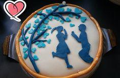 Torte zur Verlobung