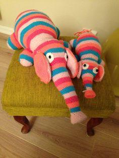 Stor og liten Elefant.