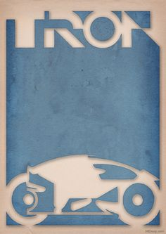 Tron - Light Cycle Poster by 3ftdeep by ~3ftDeep