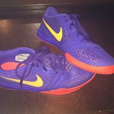official photos 3ca36 74d40 Nike Shoes   Nike Kobe Basketball Shoes   Color  Orange Purple   Size  7