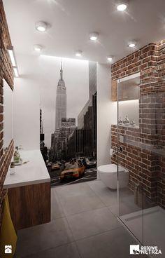 Łazienka New York - zdjęcie od Gotowe Wnętrza - Łazienka - Styl Industrialny - Gotowe Wnętrza