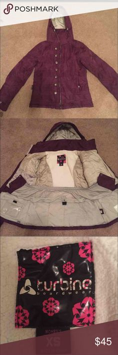 Women'sSnowboard Jacket Snowboard Jacket only worn a handful of times. Perfect condition. Women Size XS Jackets & Coats Utility Jackets