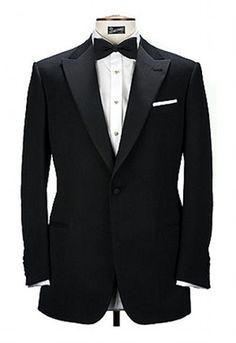 Peak lapel tuxedo-Tom Ford