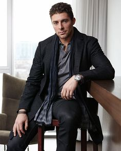 Joffrey Lupul, the de facto leader of the John Varvatos triad, doesn't have a quote like the other guys. He won't play pool with them either.