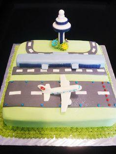 Airport Theme Cake, $180