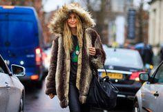 Streetlooks à la Fashion Week de Londres © Jonathan Paciullo / Frenchy Style
