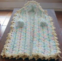Free Crocheted Baby Snuggle Pattern