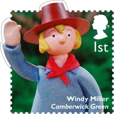 Classic Children's TV 1st Stamp (2014) Windy Miller - Camberwick GReen