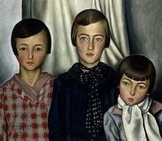 Francois-Emile Barraud, Les trois enfant