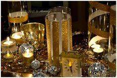 Glitz tape perfect for adding glamour to a party. #GlamourParty #Glitter