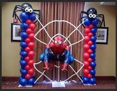 spiderman balloon arch decorations #party