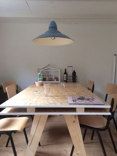 Diy table osb