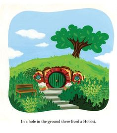 THE HOBBIT Turned Into a Children's Picture Book -Art - News - GeekTyrant
