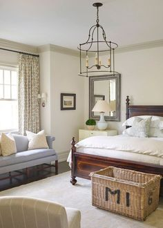 Yes, this house confirms that what updated traditional trend is nowhere . - Yes, this house confirms that what an updated traditional trend is nowhere …, - Decoration Bedroom, Home Decor Bedroom, Modern Bedroom, Bedroom Furniture, Bedroom Ideas, Contemporary Bedroom, Master Bedrooms, Classic Bedroom Decor, Furniture Design