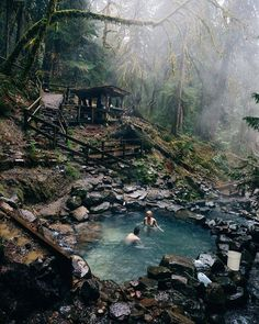 Terwilliger Hot Springs Oregon US |  Forrest Smith Say Yes To Adventure
