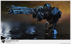 TRANSFORMERS 4: Age Of Extinction Lockdown's Weapon | CG Daily News