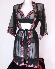 a61d21dc7cf42 Lucy Amber Lingerie Robe #lingerie #handmadelingerie #redlingerie #bodysuit  #lacebodysuit #lace