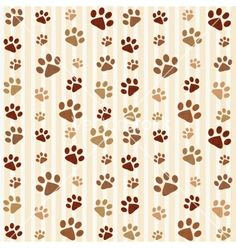 Brown footprints seamless pattern vector 1015045 - by Ann_Precious on VectorStock® Dog Scrapbook, Scrapbook Titles, Scrapbook Paper, Animal Print Background, Animal Footprints, Digital Paper Free, Baby Clip Art, Le Roi Lion, Wallpaper Iphone Disney