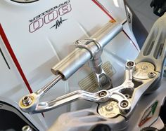 MV Agusta Dragster 800 Steering Dampers - Moto Corse S.R.L - DESIGN CORSE - 13