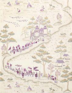 Osborne & Little: Cathay Parade by Nina Campbell