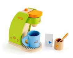 leikkikeittiö, leikki kahvinkeitin, puiset lelut, puuruoat, puinen kahvinkeitin | Leikisti-verkkokauppa