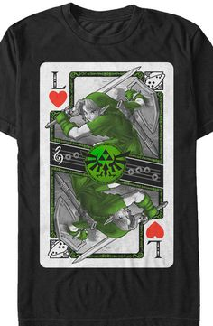 Link Playing Card T-Shirt