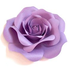 Silhouette Design Store - Search Designs : blooming rose 3 d 3d Paper Crafts, Fabric Crafts, Paper Flowers Diy, Fabric Flowers, Jewel Tone Wedding, Wedding Colors, Doodle Frames, Blooming Rose, Flower Clipart